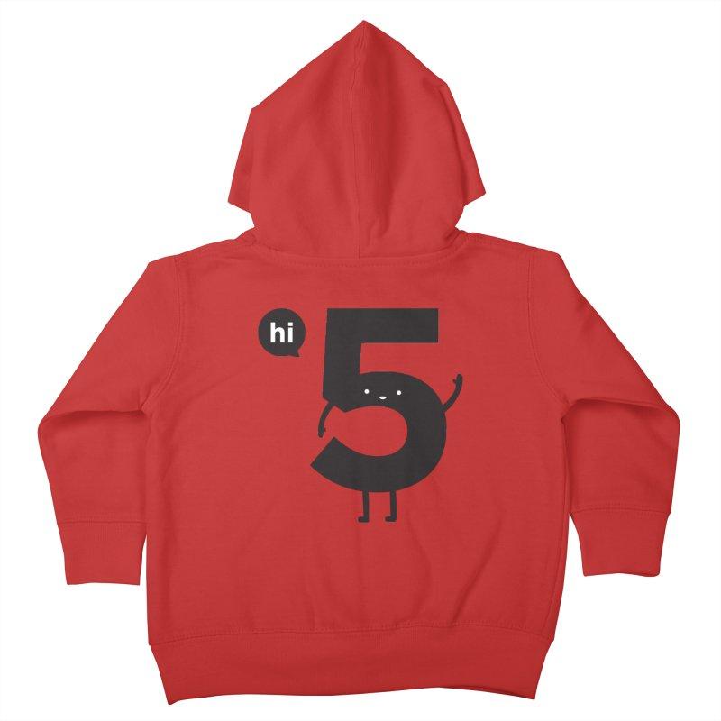 Hi 5 Kids Toddler Zip-Up Hoody by jacohaasbroek's Artist Shop