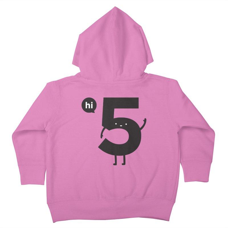 Hi 5 Kids Toddler Zip-Up Hoody by Haasbroek's Artist Shop