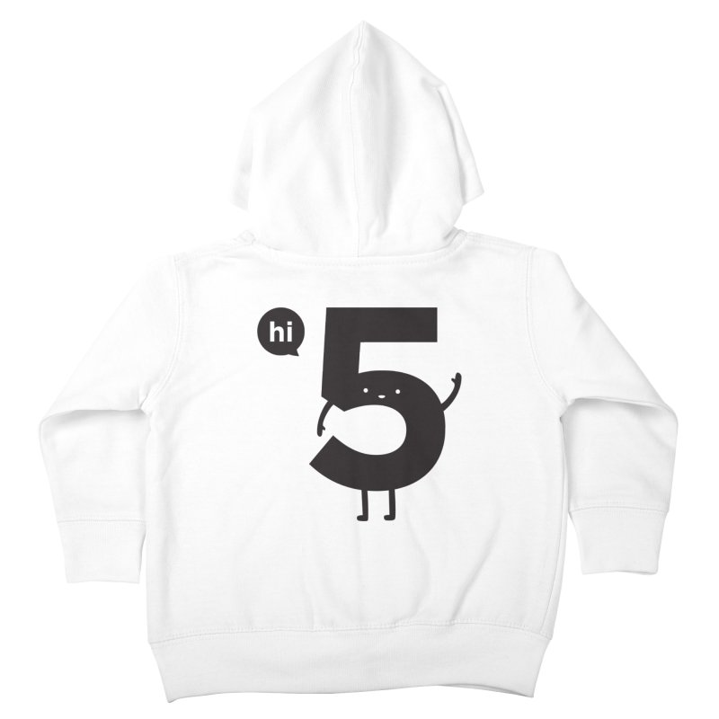 Hi 5 Kids Toddler Zip-Up Hoody by jacohaasbroek's Artist Shop