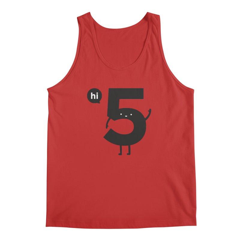 Hi 5 Men's Regular Tank by Haasbroek's Artist Shop