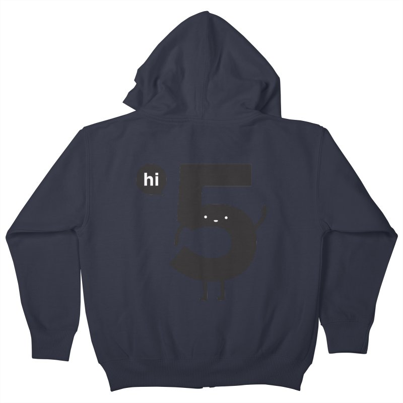 Hi 5 Kids Zip-Up Hoody by jacohaasbroek's Artist Shop