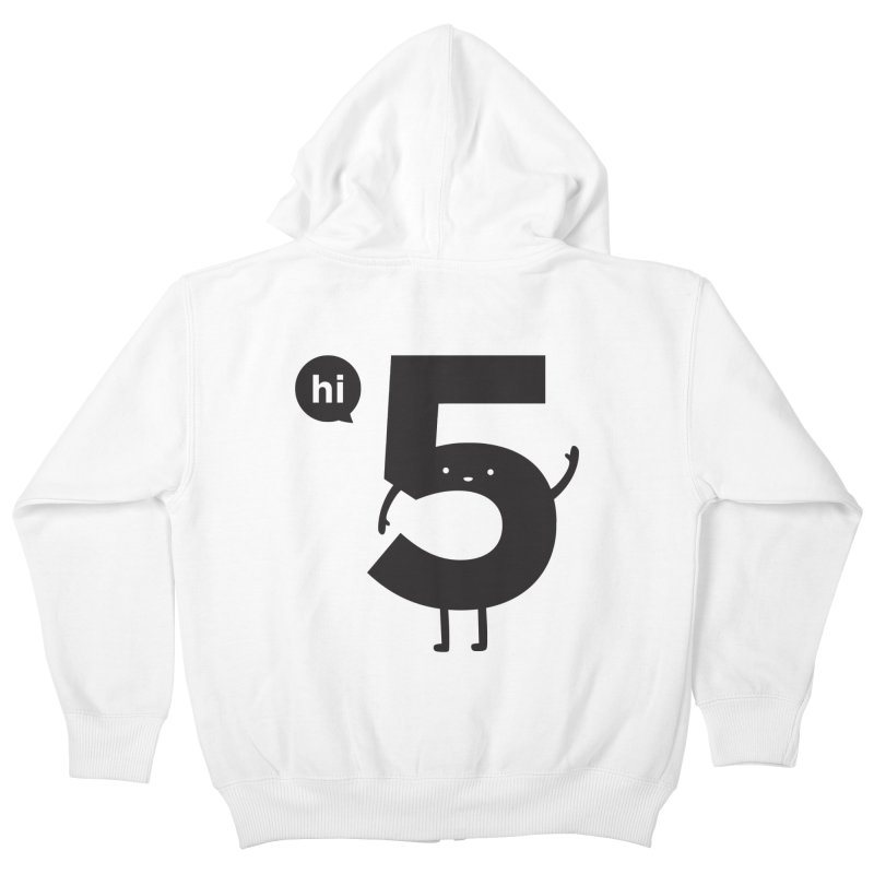 Hi 5 Kids Zip-Up Hoody by jacohaasbroek's Artist Shop
