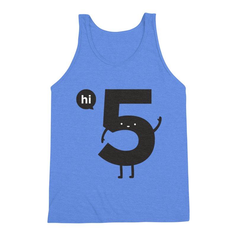 Hi 5 Men's Triblend Tank by Haasbroek's Artist Shop
