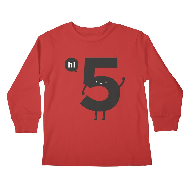 Hi 5 Kids Longsleeve T-Shirt by Haasbroek's Artist Shop
