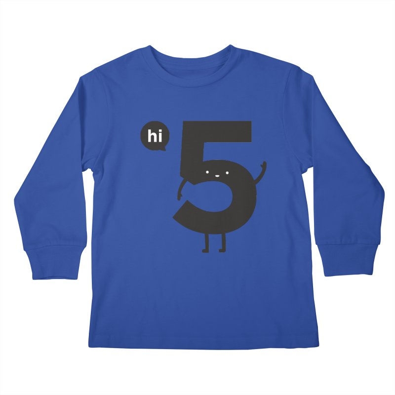 Hi 5 Kids Longsleeve T-Shirt by jacohaasbroek's Artist Shop