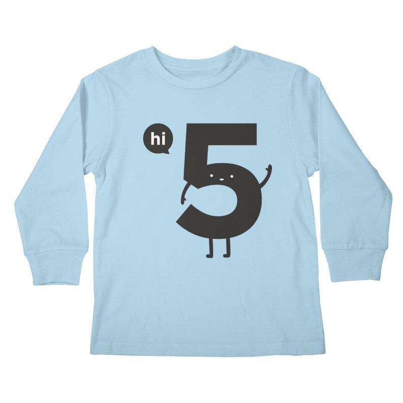 Hi 5 Kids Longsleeve T-Shirt by jacohaasbroek's Artist Shop