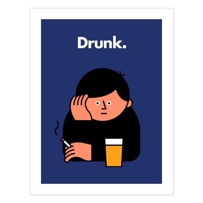 Drunk Home Fine Art Print by Haasbroek's Artist Shop