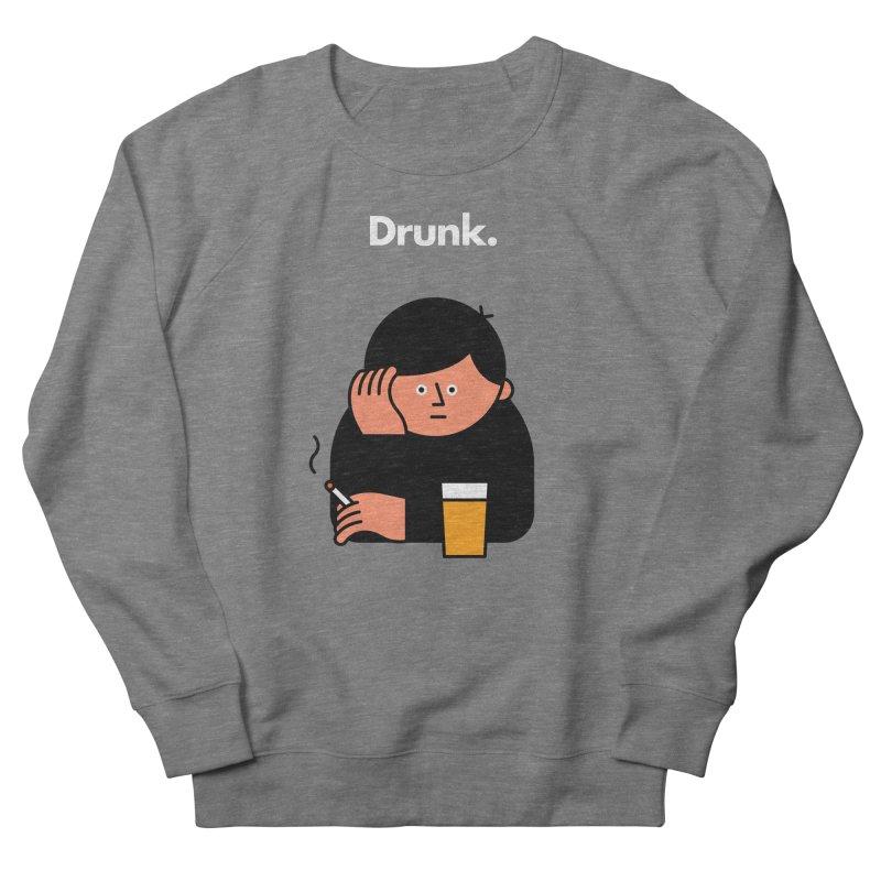 Drunk Women's Sweatshirt by Haasbroek's Artist Shop