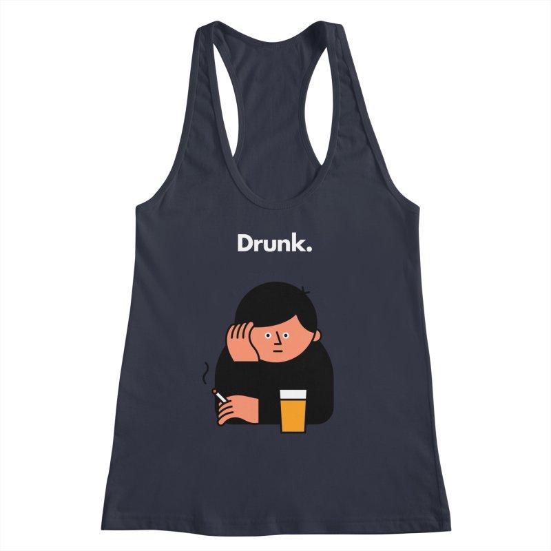 Drunk Women's Tank by Haasbroek's Artist Shop