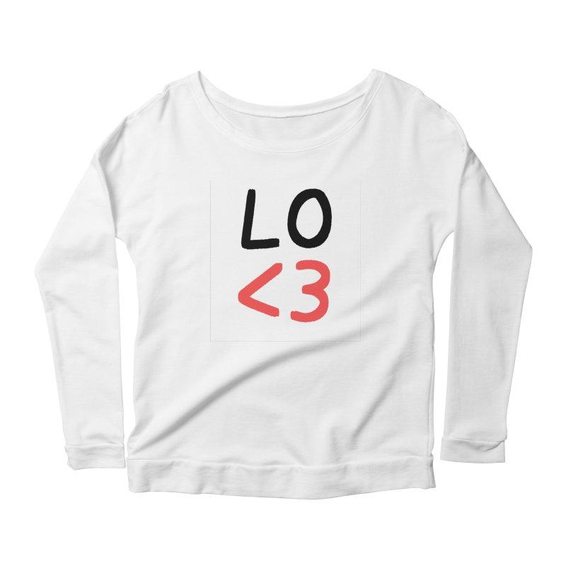 LO<3 Women's Longsleeve T-Shirt by Haasbroek's Artist Shop