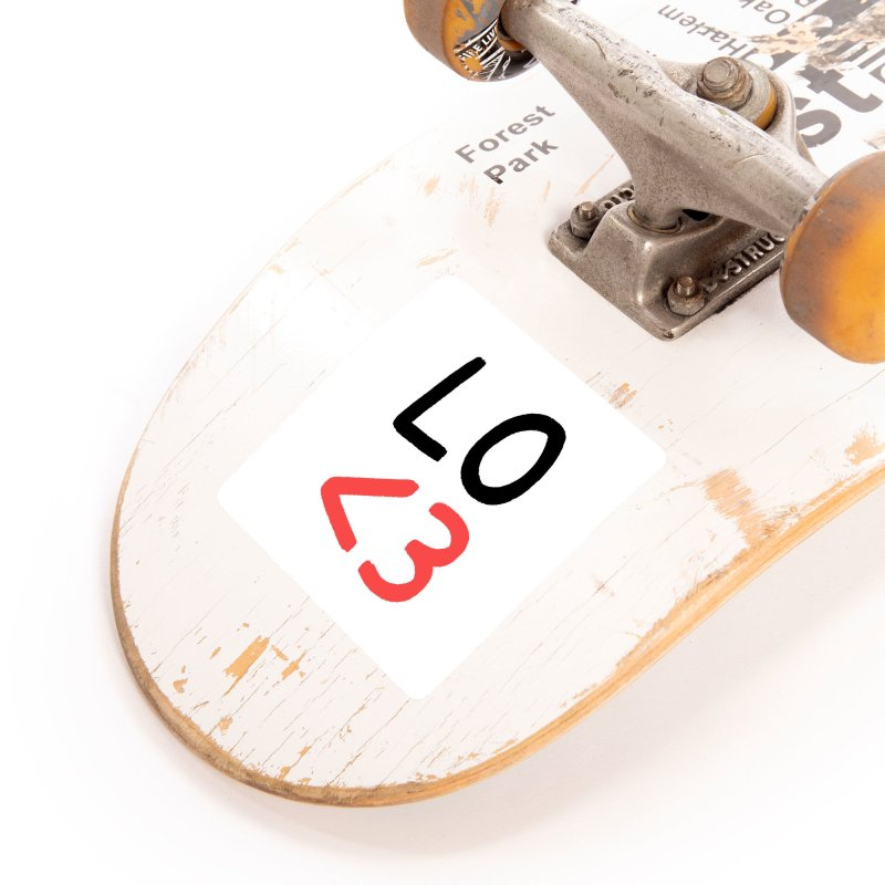 LO<3 Accessories Sticker by Haasbroek's Artist Shop