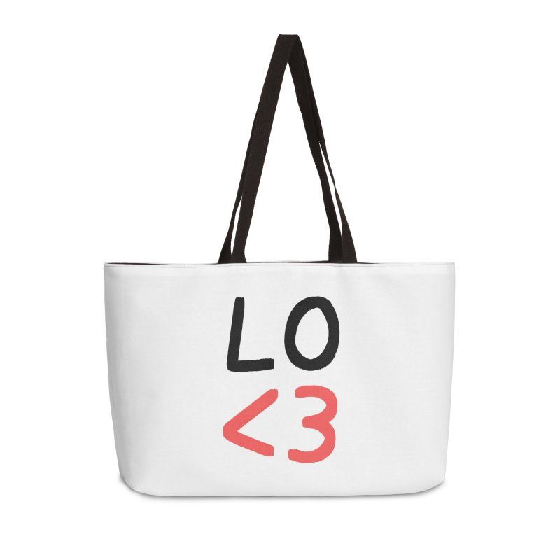 LO<3 Accessories Bag by Haasbroek's Artist Shop