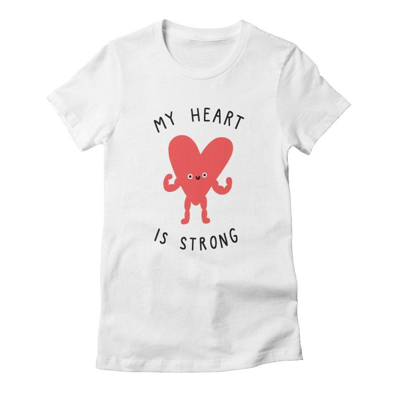 Cardio Women's T-Shirt by Haasbroek's Artist Shop