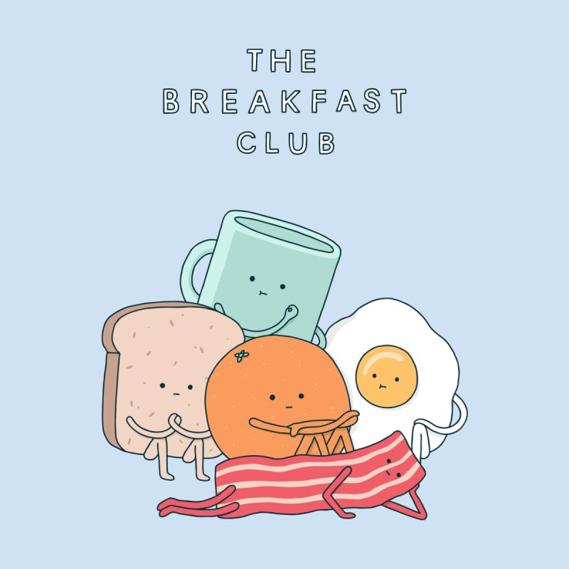 The Breakfast Club Men's T-Shirt by Haasbroek's Artist Shop