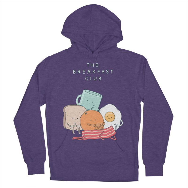 The Breakfast Club Men's French Terry Pullover Hoody by Haasbroek's Artist Shop