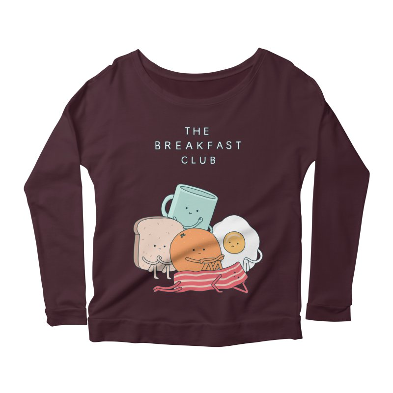 The Breakfast Club Women's Longsleeve Scoopneck  by jacohaasbroek's Artist Shop