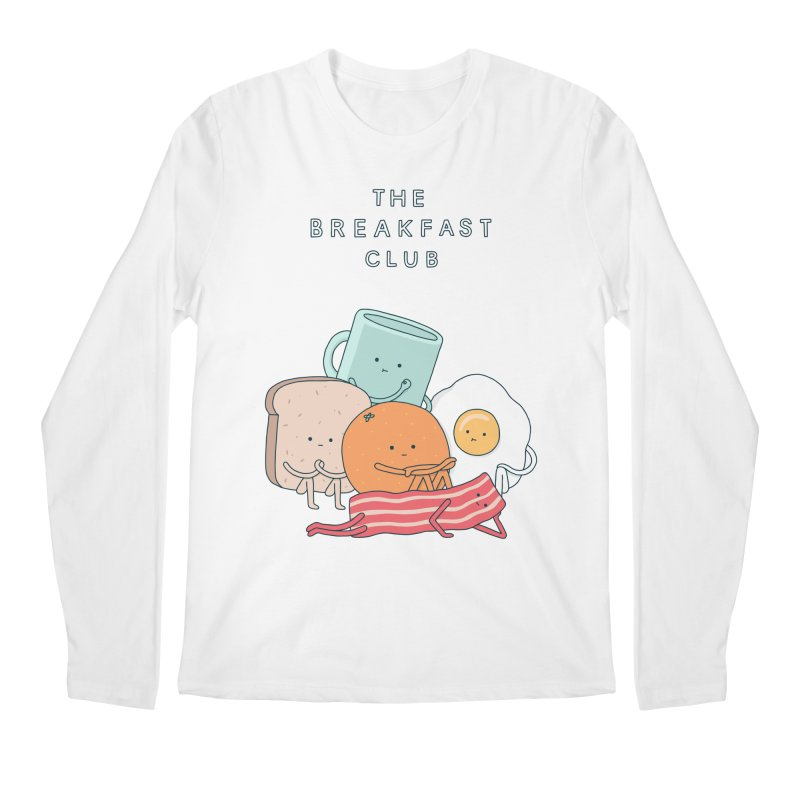 The Breakfast Club Men's Regular Longsleeve T-Shirt by Haasbroek's Artist Shop