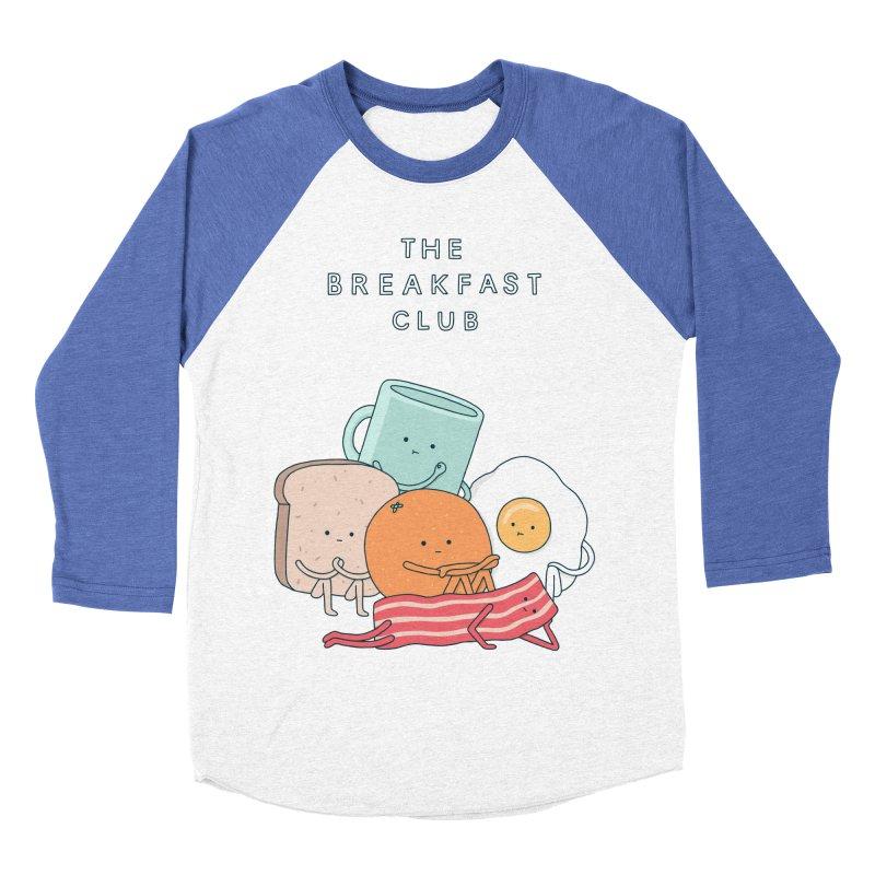 The Breakfast Club Women's Baseball Triblend Longsleeve T-Shirt by jacohaasbroek's Artist Shop