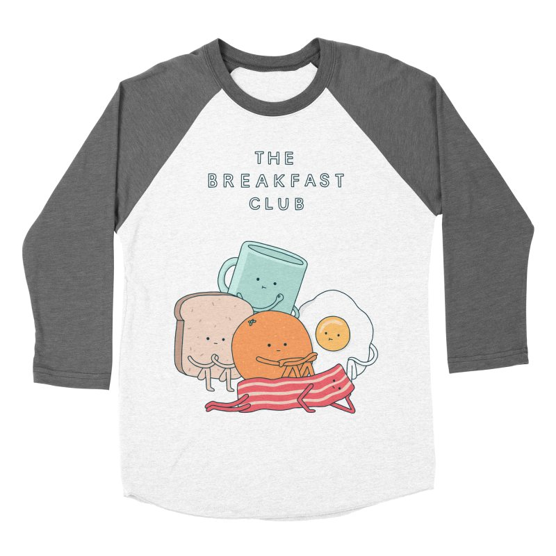 The Breakfast Club Men's Baseball Triblend Longsleeve T-Shirt by Haasbroek's Artist Shop