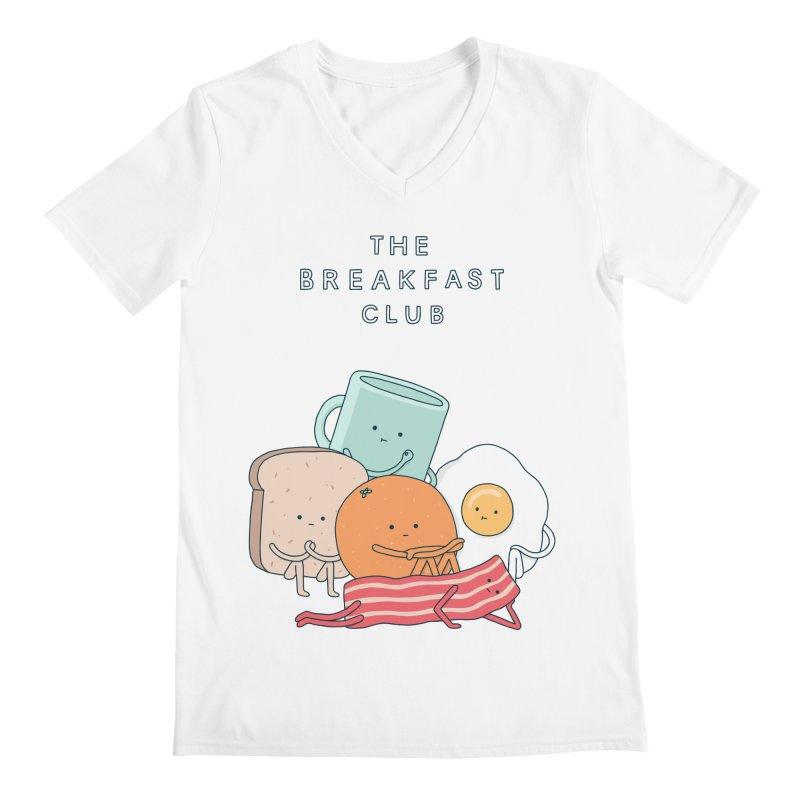 The Breakfast Club Men's Regular V-Neck by Haasbroek's Artist Shop
