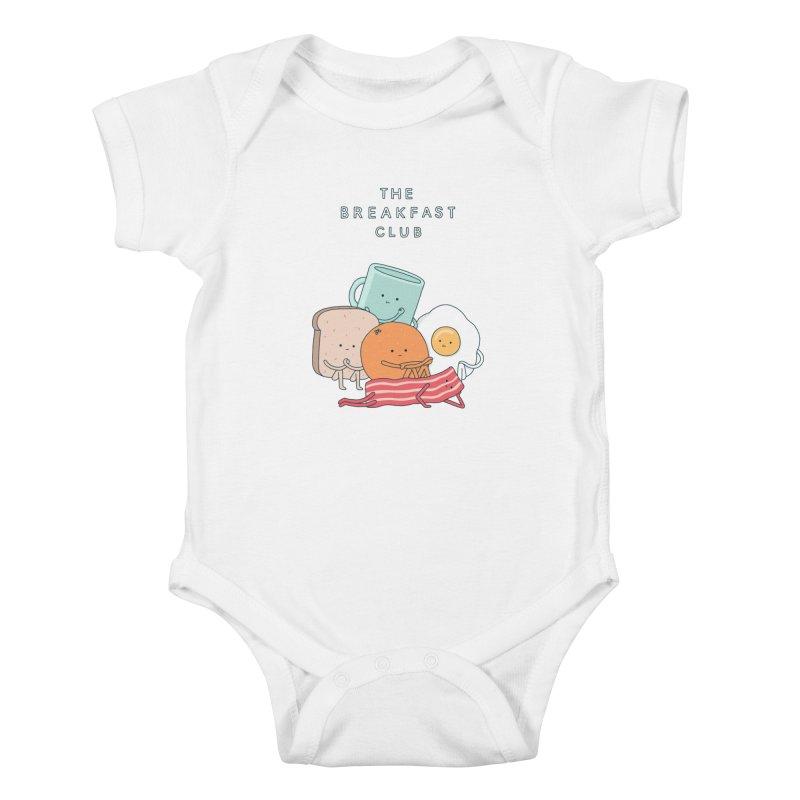 The Breakfast Club Kids Baby Bodysuit by Haasbroek's Artist Shop