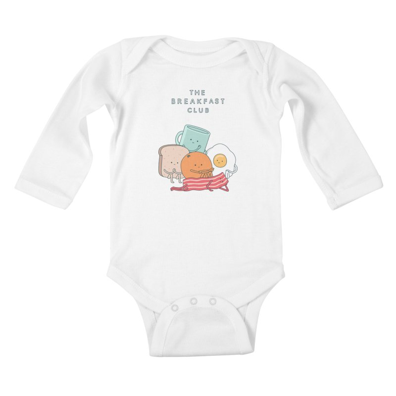 The Breakfast Club Kids Baby Longsleeve Bodysuit by Haasbroek's Artist Shop