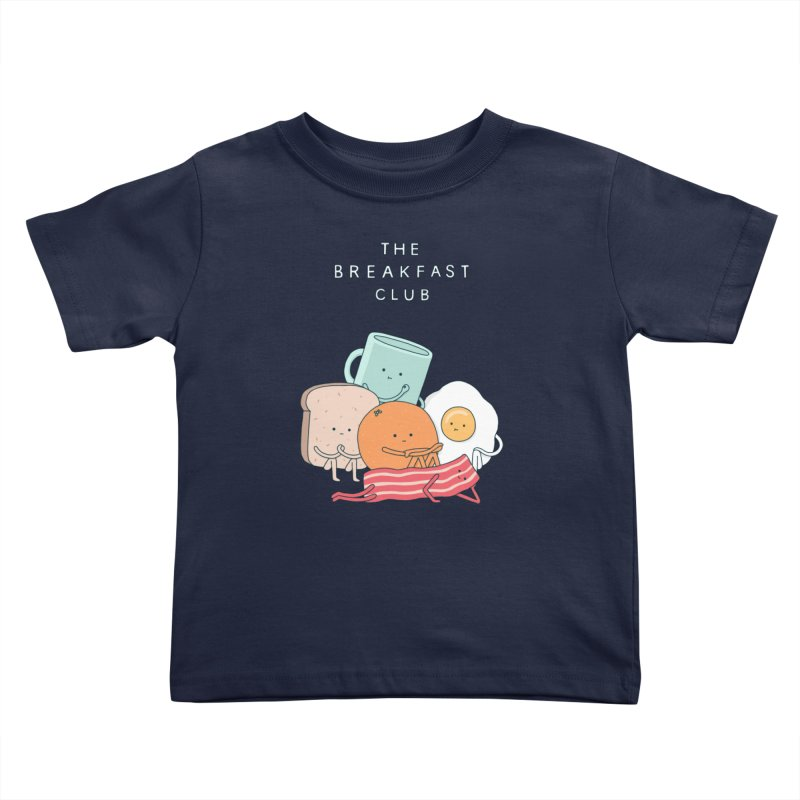 The Breakfast Club Kids Toddler T-Shirt by jacohaasbroek's Artist Shop