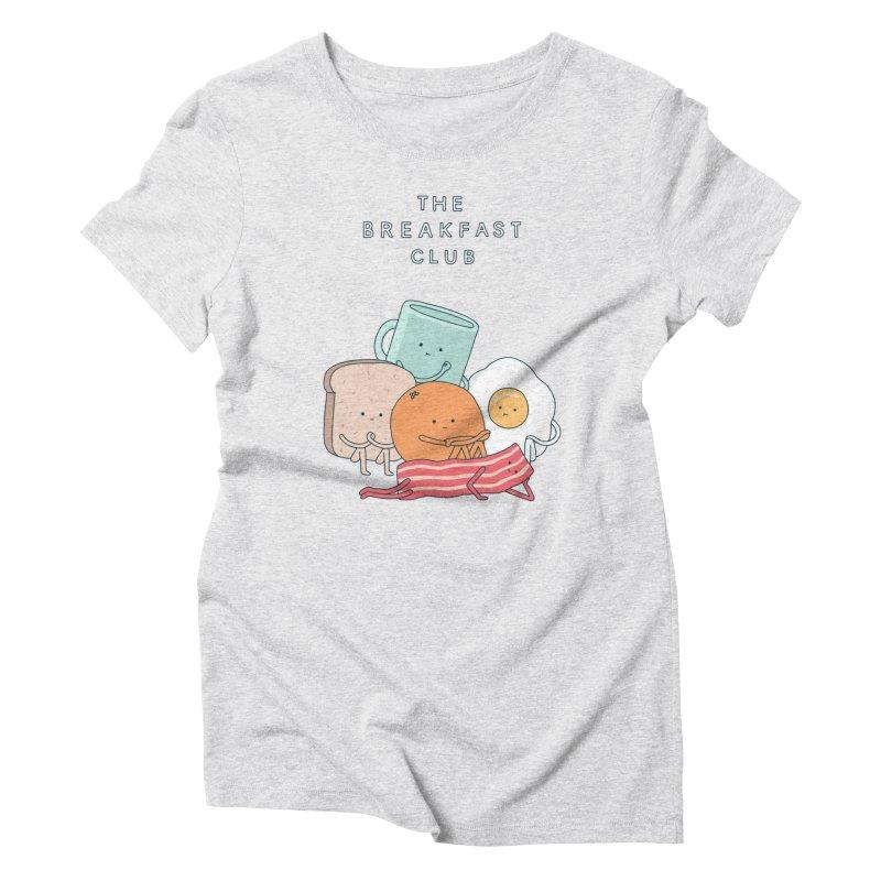 The Breakfast Club Women's T-Shirt by Haasbroek's Artist Shop