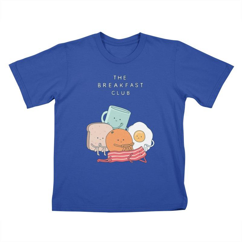 The Breakfast Club Kids T-Shirt by jacohaasbroek's Artist Shop