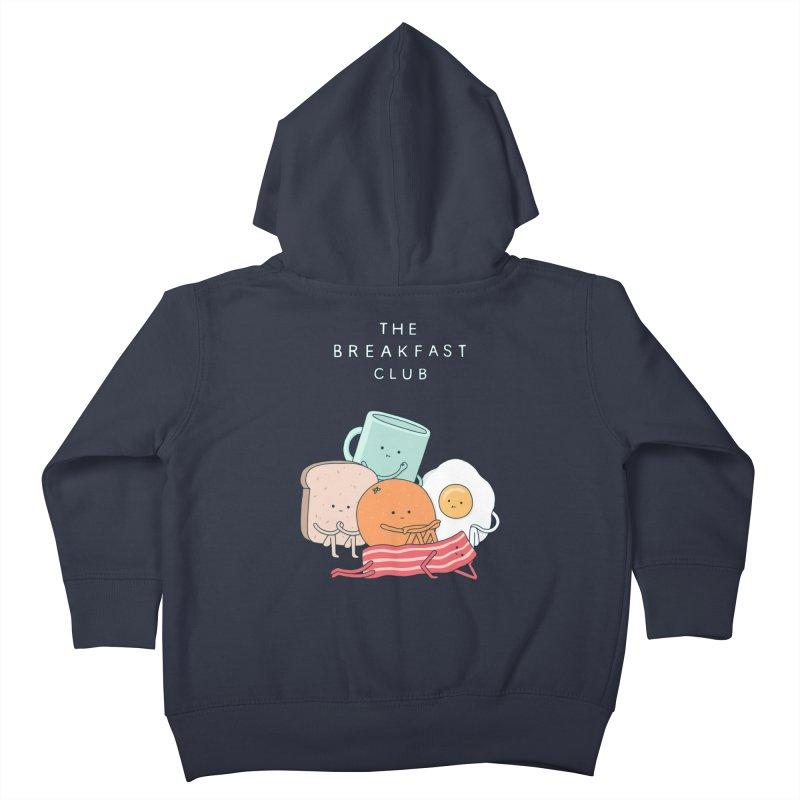 The Breakfast Club Kids Toddler Zip-Up Hoody by Haasbroek's Artist Shop