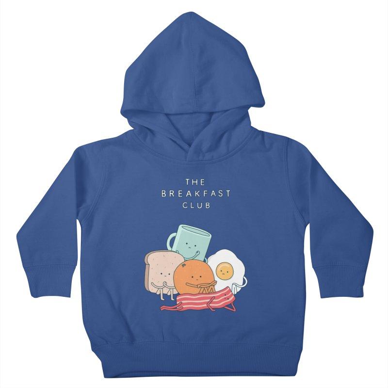 The Breakfast Club Kids Toddler Pullover Hoody by Haasbroek's Artist Shop