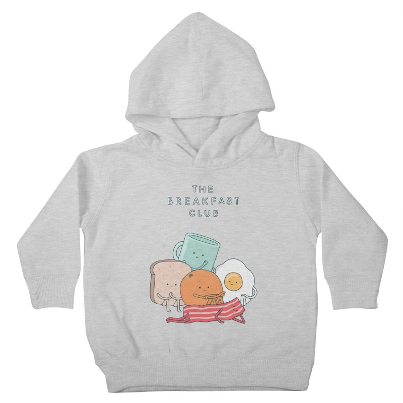The Breakfast Club Kids Toddler Pullover Hoody by Haasbroek's Artist Shop