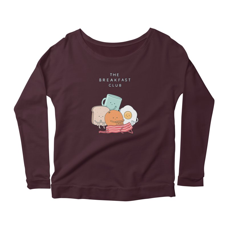 The Breakfast Club Women's Scoop Neck Longsleeve T-Shirt by jacohaasbroek's Artist Shop