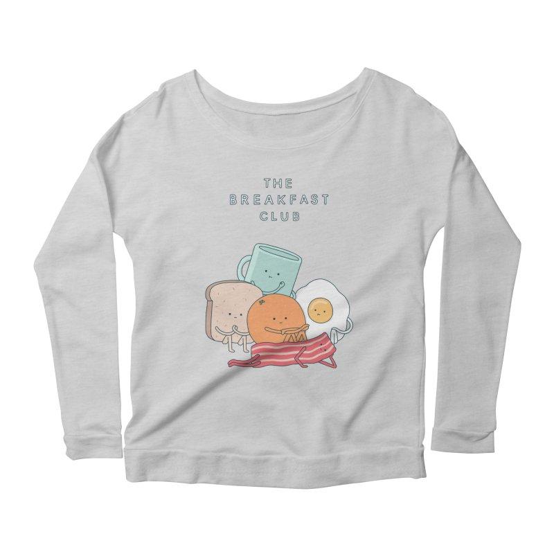 The Breakfast Club Women's Scoop Neck Longsleeve T-Shirt by Haasbroek's Artist Shop