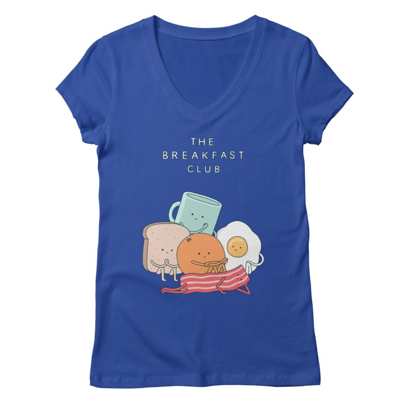 The Breakfast Club Women's V-Neck by jacohaasbroek's Artist Shop