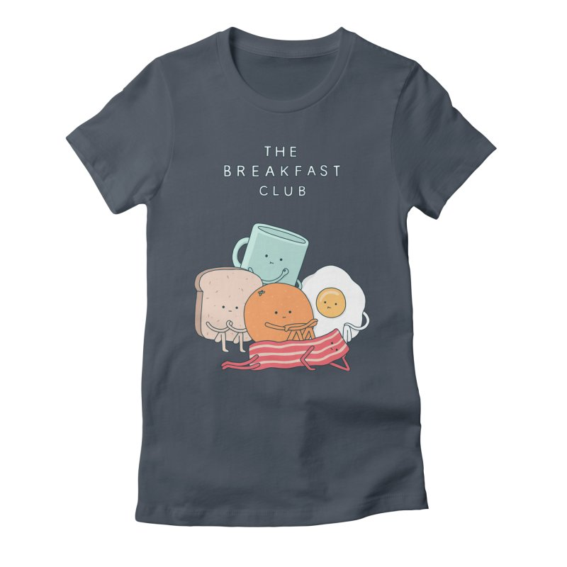 The Breakfast Club Women's Fitted T-Shirt by Haasbroek's Artist Shop