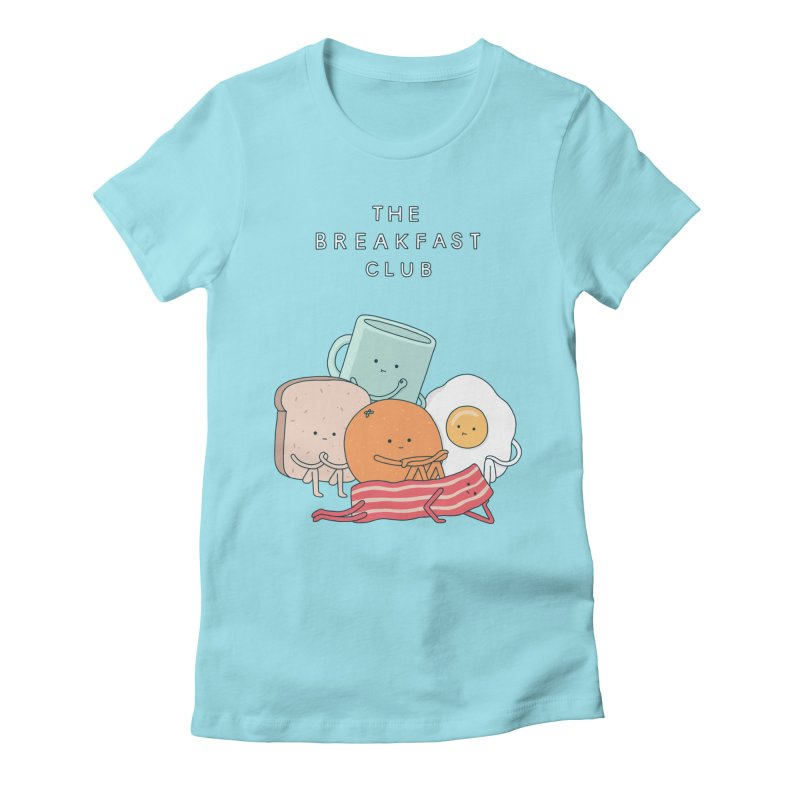 The Breakfast Club Women's Fitted T-Shirt by Haasbroek's Artist Shop