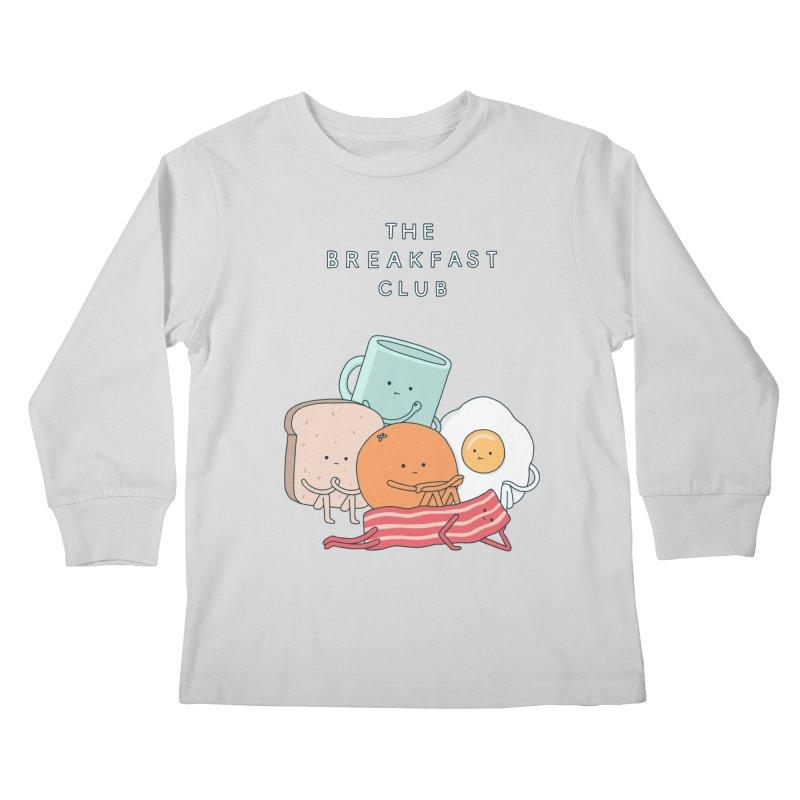 The Breakfast Club Kids Longsleeve T-Shirt by Haasbroek's Artist Shop