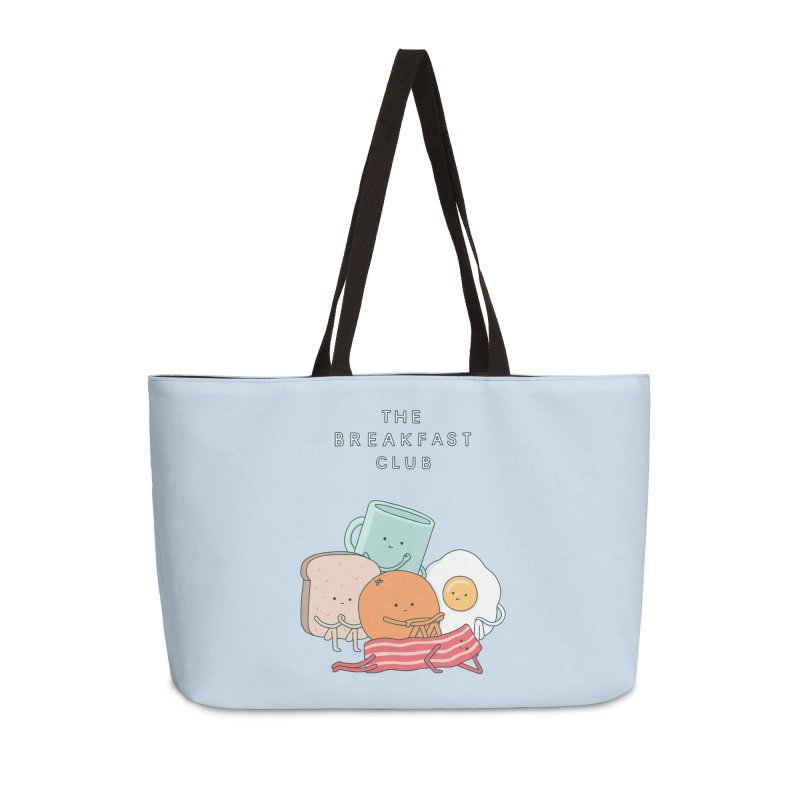 The Breakfast Club Accessories Weekender Bag Bag by Haasbroek's Artist Shop