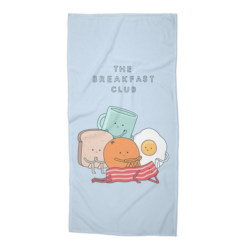 The Breakfast Club Accessories Beach Towel by Haasbroek's Artist Shop