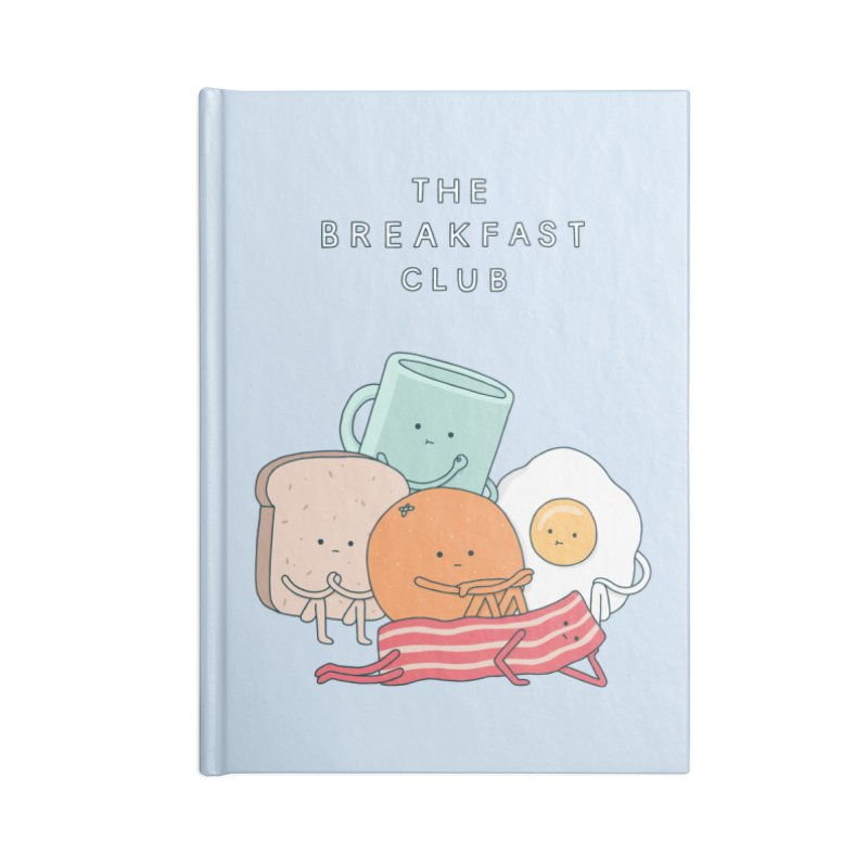 The Breakfast Club Accessories Blank Journal Notebook by Haasbroek's Artist Shop