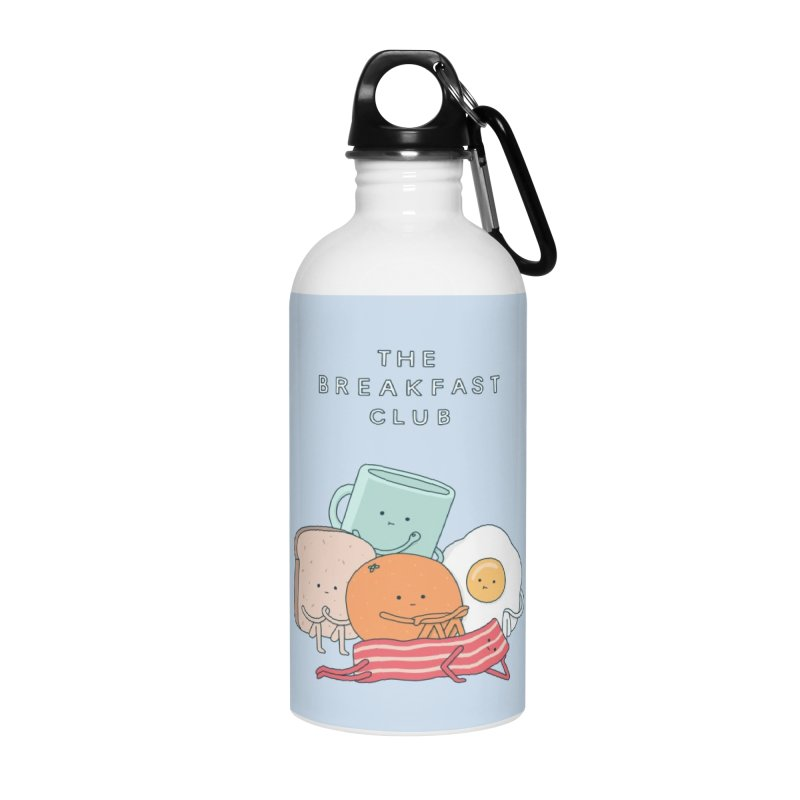 The Breakfast Club Accessories Water Bottle by jacohaasbroek's Artist Shop