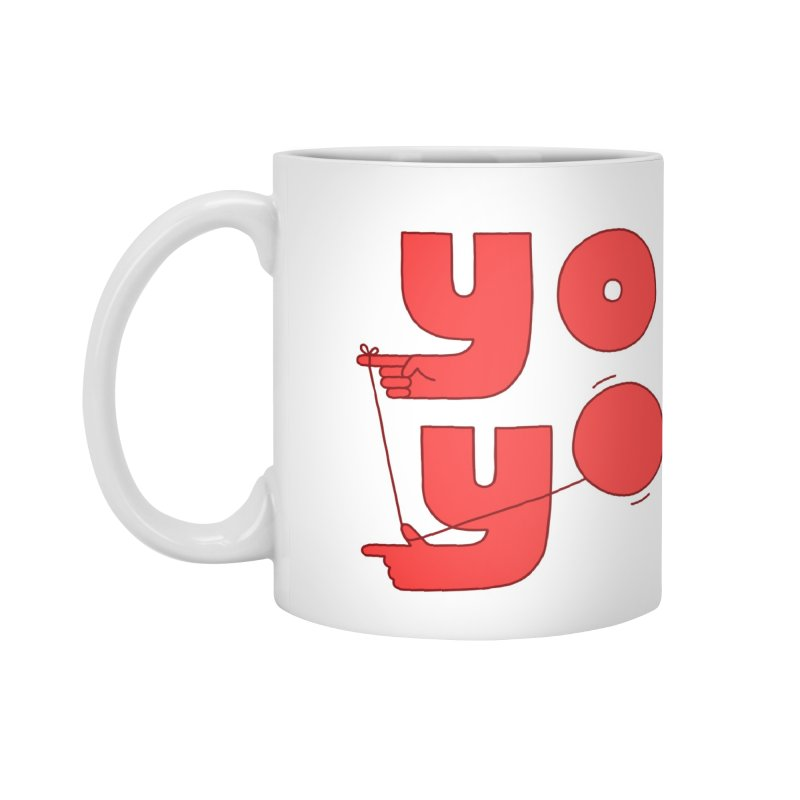 Yo Accessories Standard Mug by Haasbroek's Artist Shop