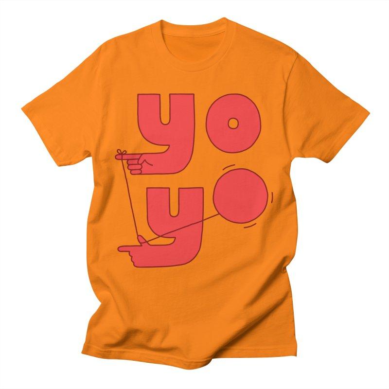 Yo Men's T-Shirt by Haasbroek's Artist Shop
