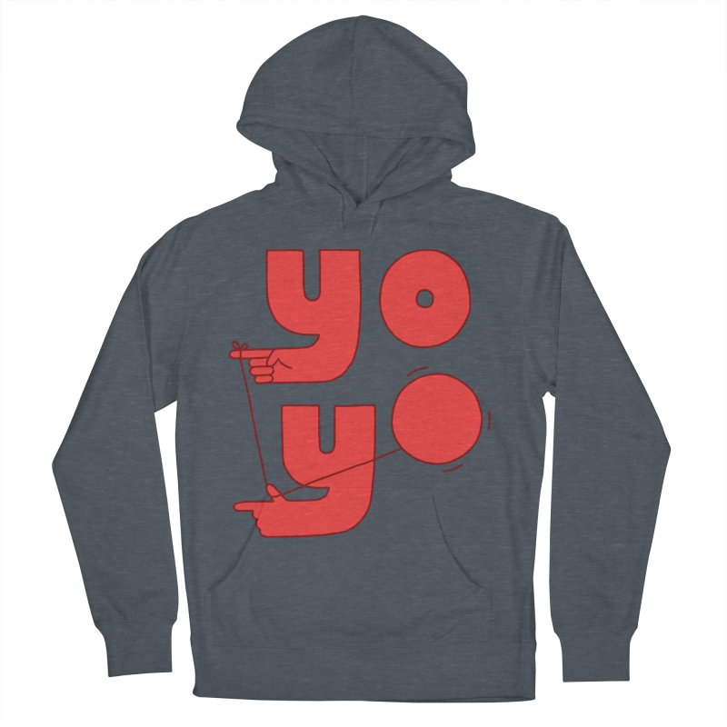 Yo Women's French Terry Pullover Hoody by Haasbroek's Artist Shop