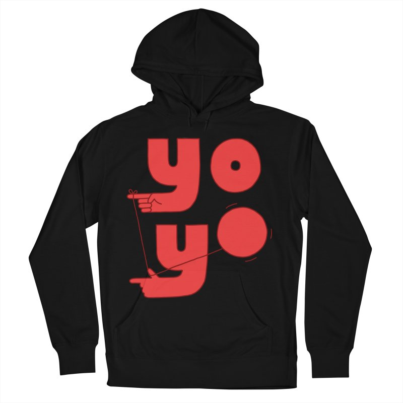 Yo Women's French Terry Pullover Hoody by jacohaasbroek's Artist Shop