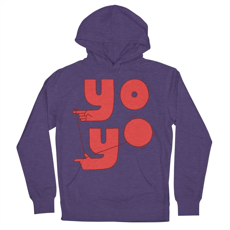 Yo Men's French Terry Pullover Hoody by Haasbroek's Artist Shop