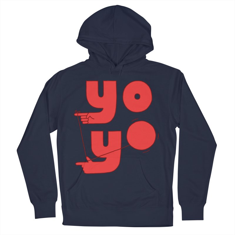 Yo Men's French Terry Pullover Hoody by jacohaasbroek's Artist Shop