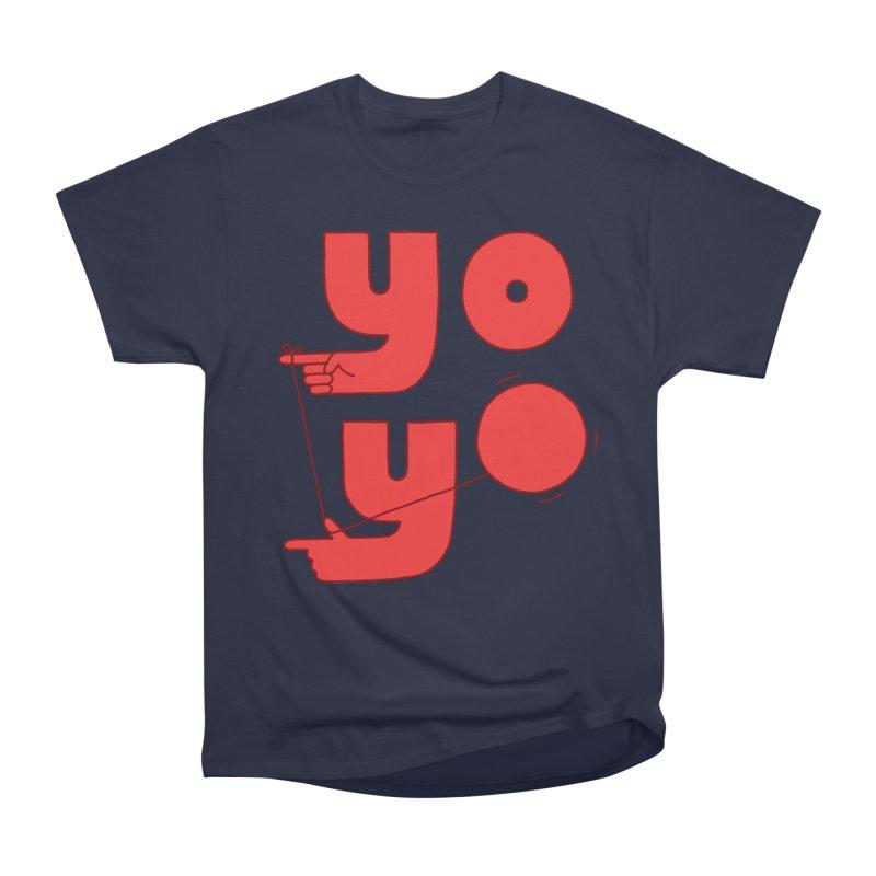 Yo Women's Heavyweight Unisex T-Shirt by jacohaasbroek's Artist Shop