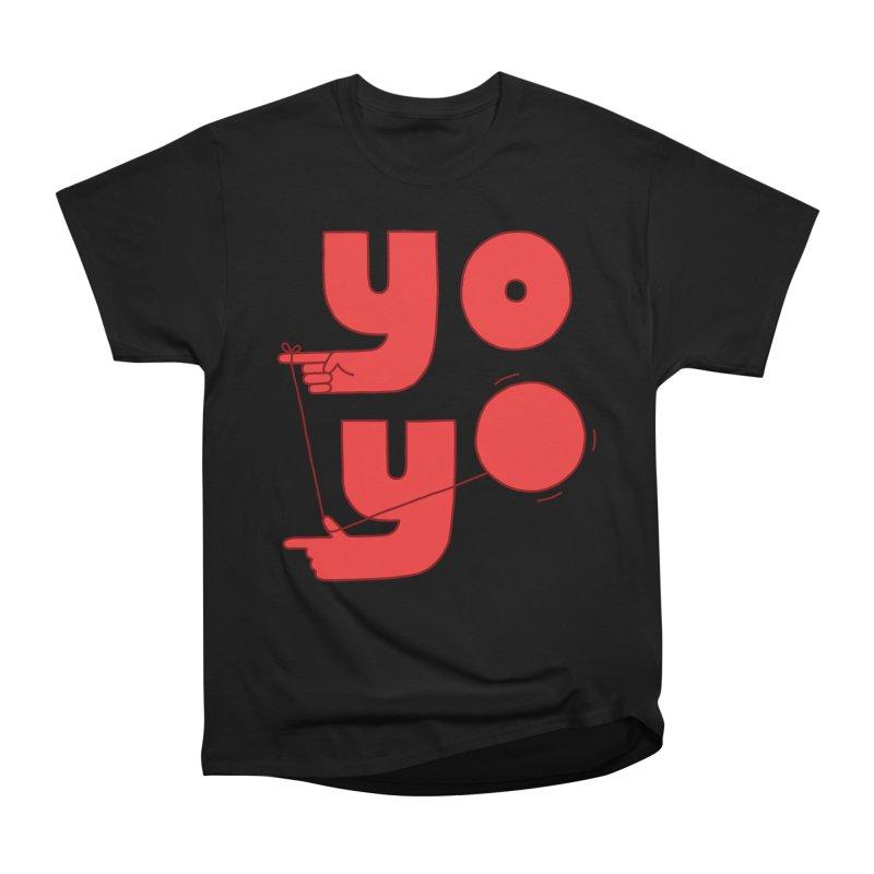 Yo Men's Heavyweight T-Shirt by jacohaasbroek's Artist Shop